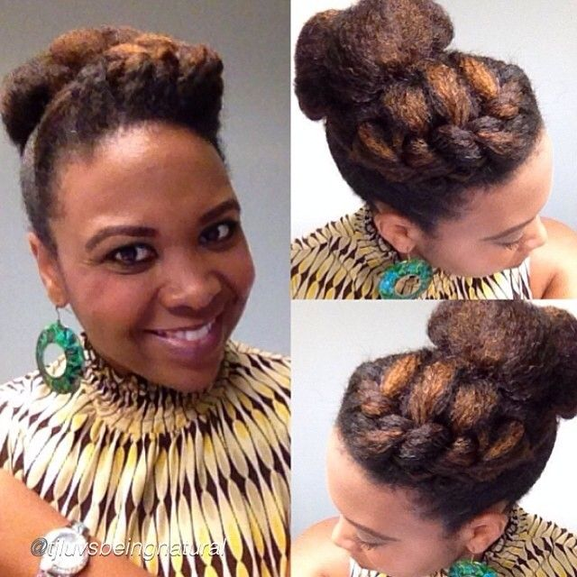 25 Best Ideas About Natural Updo Hairstyles On Pinterest Flat