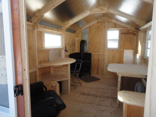 Kijiji NEW 8x12 ice huts with optional interiors  Ice