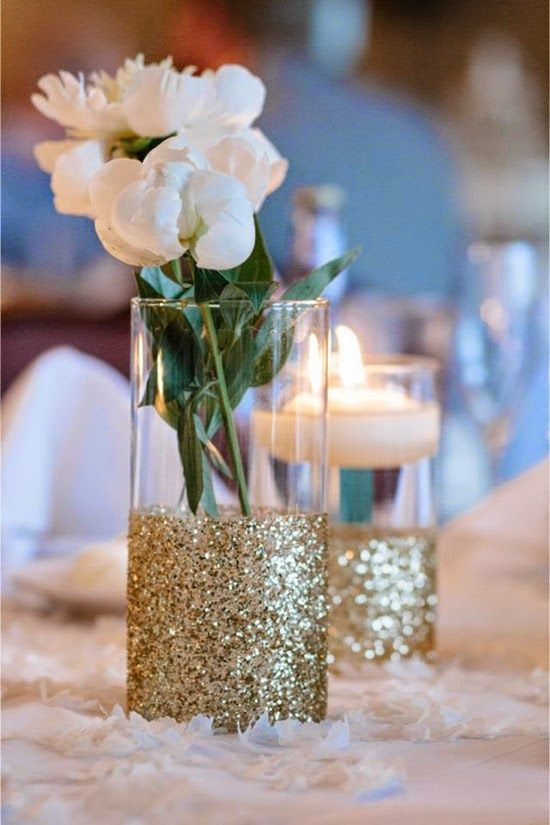 Simple Cheap Wedding Table Decorations
