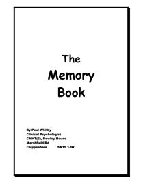 Book, Memories and Tips on Pinterest
