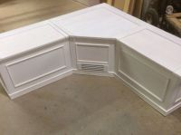 Banquette- Corner Bench Seat with Storage | Bench seat ...