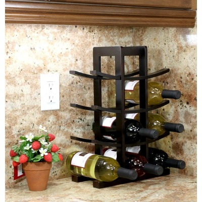 1000 Images About Top 10 Countertop Wine Racks On
