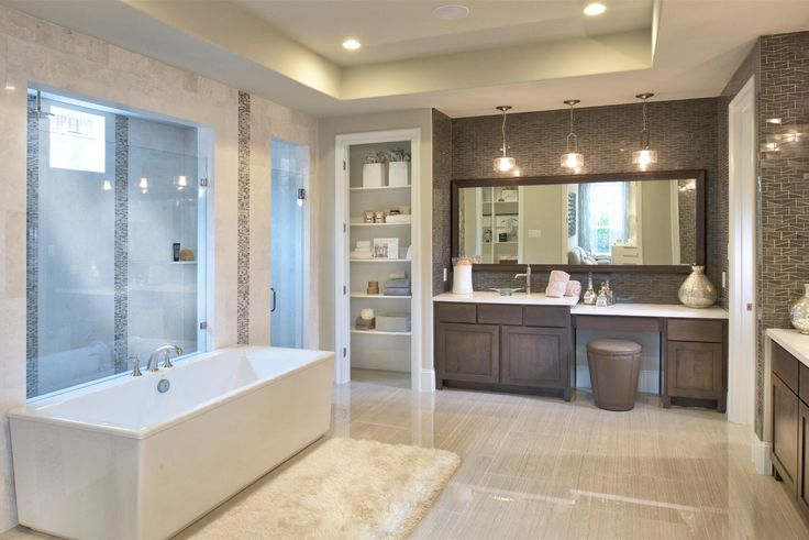 Toll Brothers at The Woodlands TX  Bathrooms  Pinterest