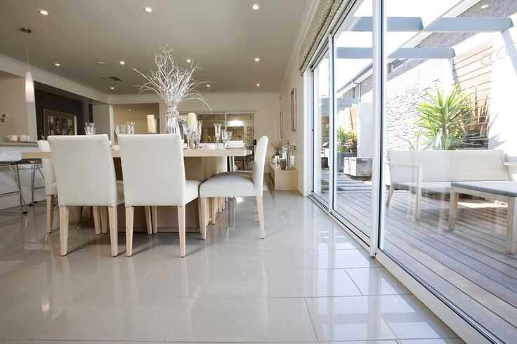 Stratos Light Grey Polished Porcelain Tiles