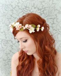 25+ best ideas about Hair garland on Pinterest   Wedding ...