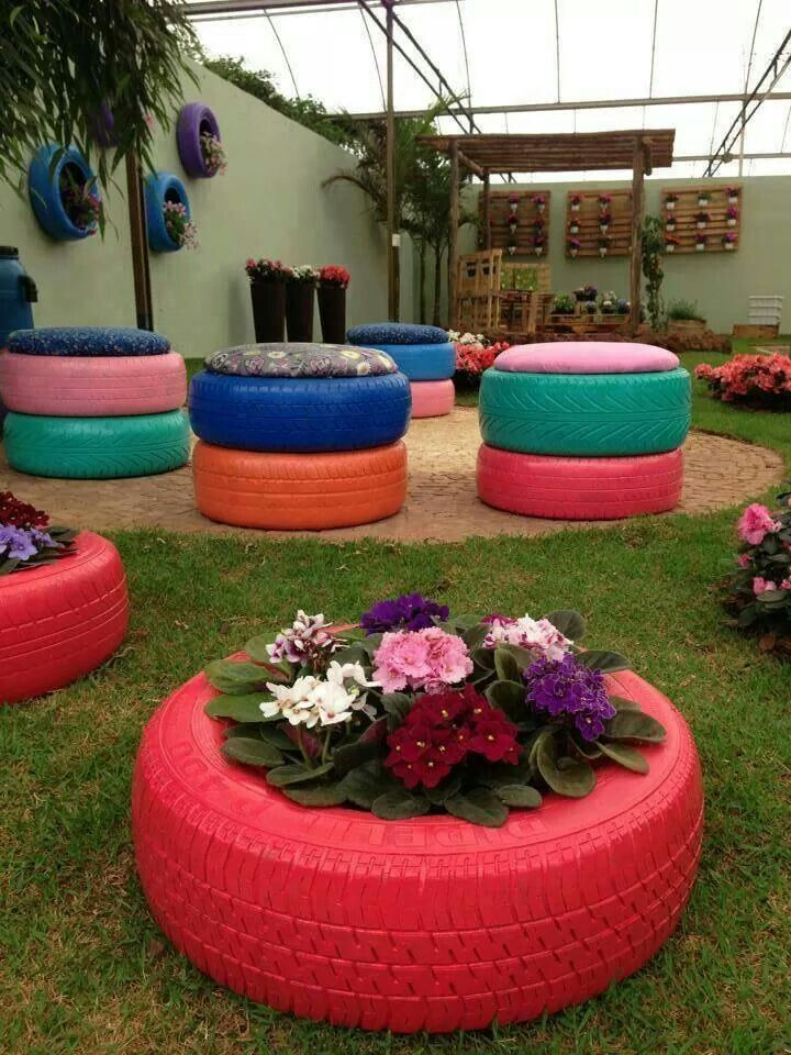 25 Best Ideas About Tire Planters On Pinterest Tire Garden
