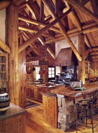Marvelous rustic kitchen | Make mine rustic | Pinterest ...
