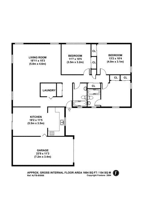 Willingboro L Shaped Rancher Floor Plans Pinterest