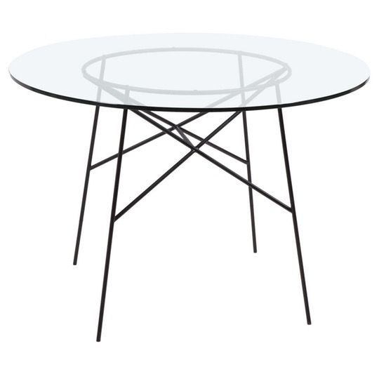 17 Best ideas about Metal Dining Table on Pinterest