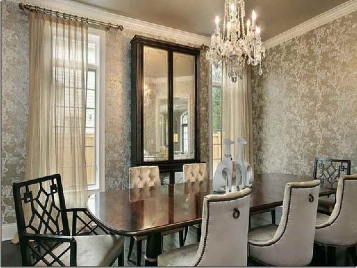 1000 ideas about Dining Room Wallpaper on Pinterest