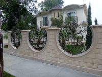 sheet metal fence designs | Block Wall, Fence | Pinterest ...