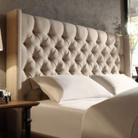 25+ best ideas about Grey upholstered headboards on ...