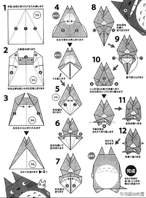 看着略复杂,Origami Crafts for Kids, Free Printable Origami