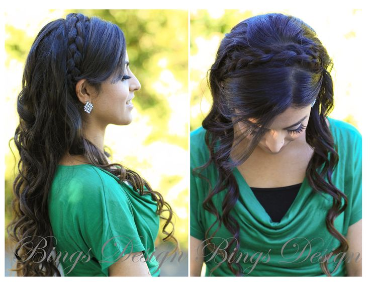 Braided Hairstyle For Long Hair WwwBingsDesigncom