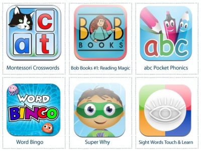 6 Apps For Learning To Read:
