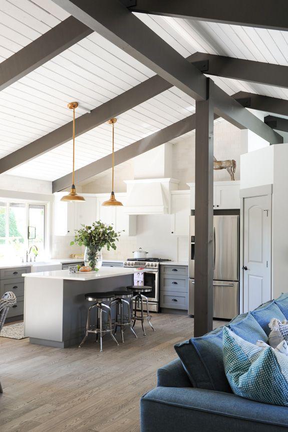 Best 25+ Painted beams ideas on Pinterest