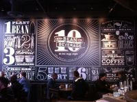 Starbucks chalkboard wall art | Design Ideas | Pinterest ...