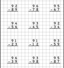 Subtraction With Regrouping Worksheets [ 1093 x 736 Pixel ]