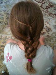 medieval princess hairstyle sewing