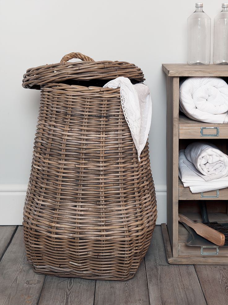 1000 ideas about Woven Laundry Basket on Pinterest