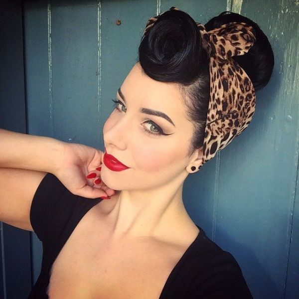 30 Psychobilly Hairstyles With Bandana Hairstyles Ideas Walk