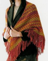 Quick Easy Crochet Shawl Pattern ~ Dancox for