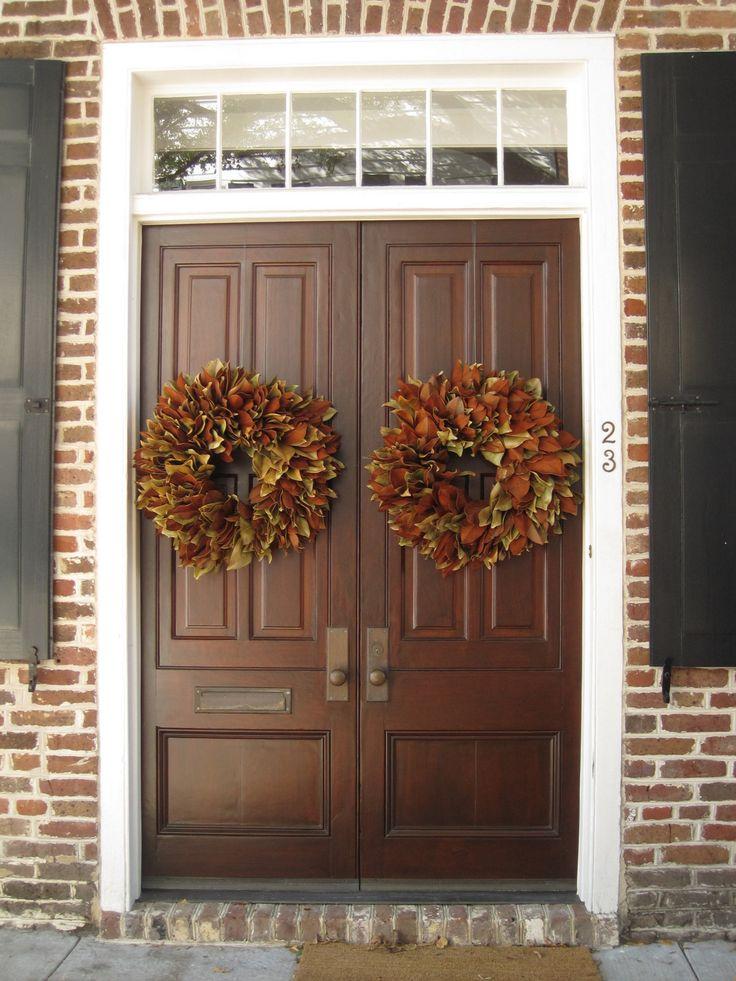 double front door georgian  Double Front Door Ideas for