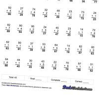 Addition Facts Worksheets Generator - worksheets math and ...
