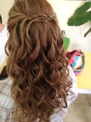 loose curls with micro