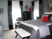 25+ best Grey red bedrooms ideas on Pinterest | Red ...