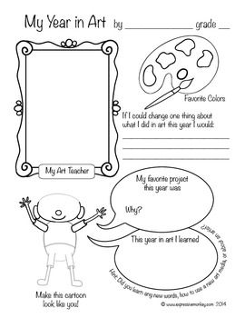 17 Best images about Art Classroom: Handouts;Assessments