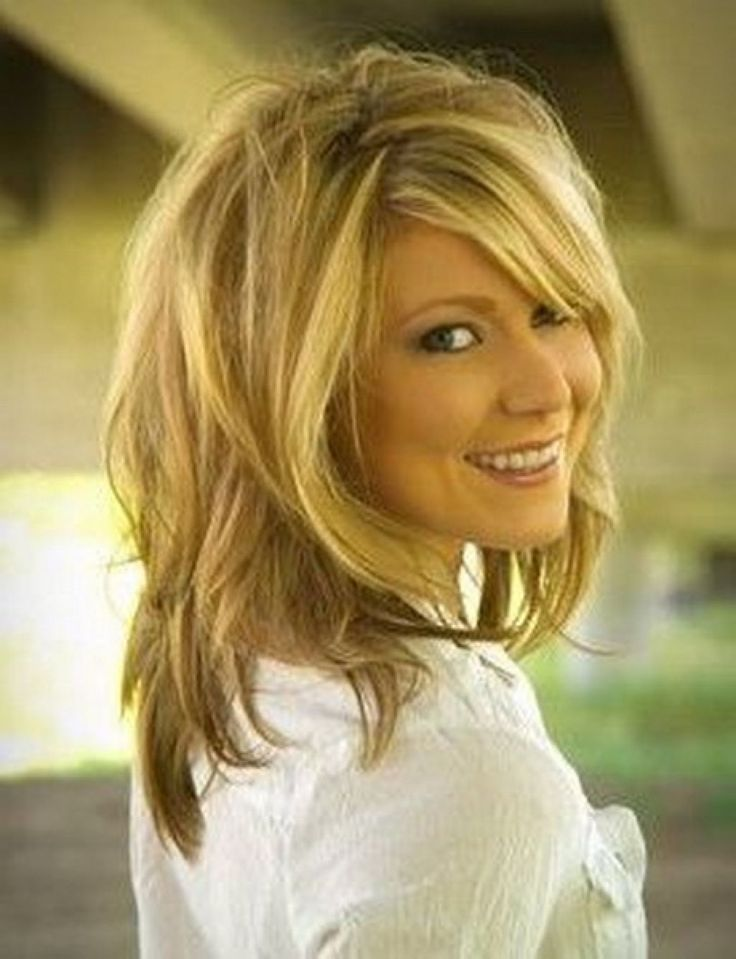 1000 ideas about Medium Length Layered Hairstyles on