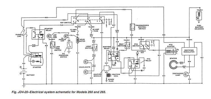 John Deere 5065e Wiring Diagram Electrical Diagram For John Deere Z445 Bing Images
