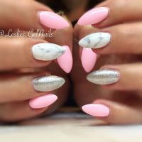 25+ best ideas about Almond Nails Pink on Pinterest ...