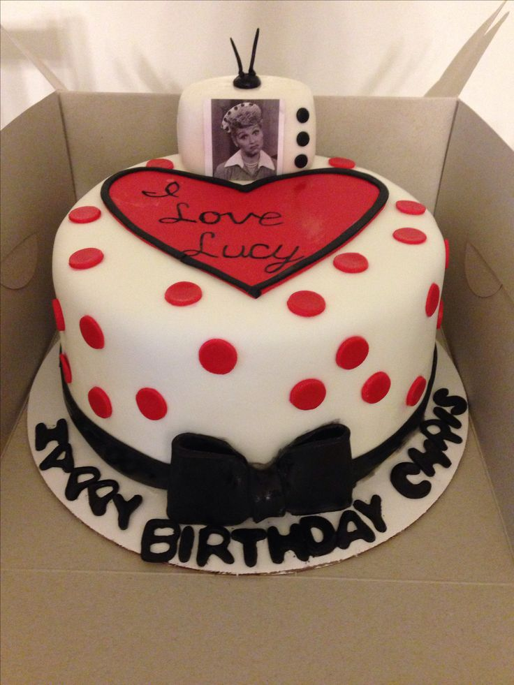 Absolutely Love This One I Love Lucy Cake By D Amp M Cakes