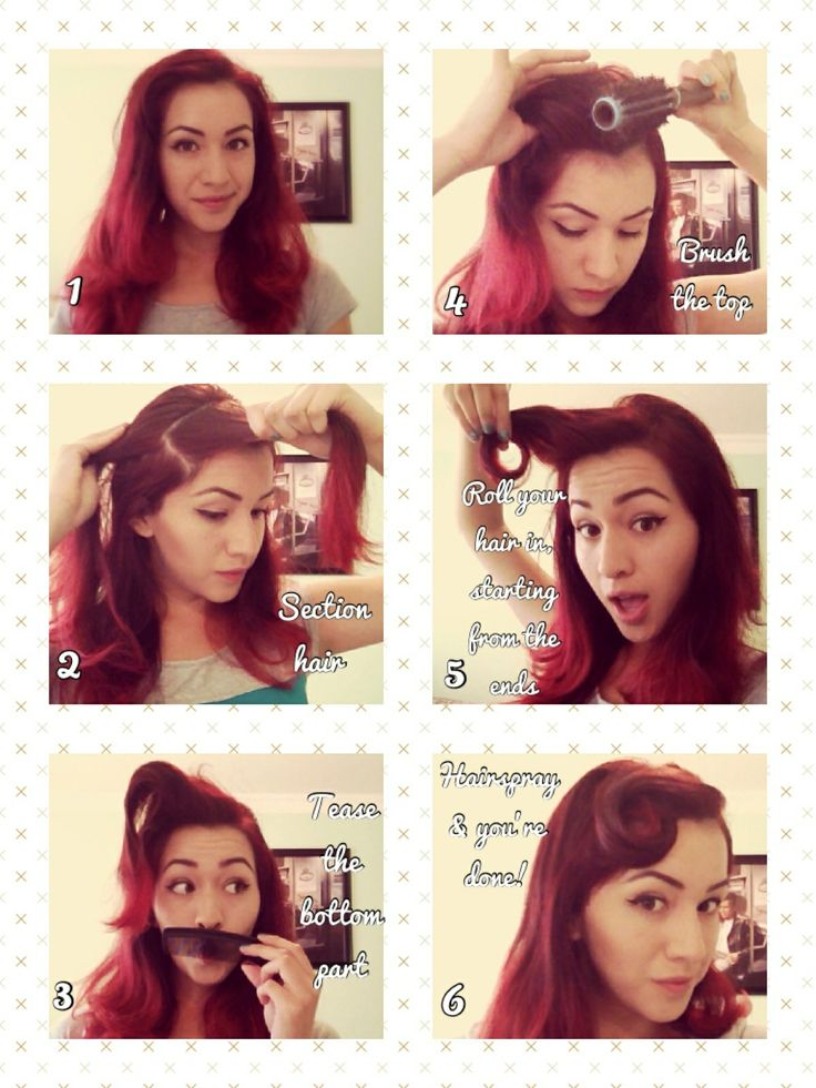 25 Best Ideas About Rockabilly Hair Tutorials On Pinterest Easy