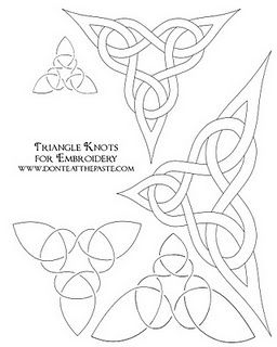 1000+ images about embroidery-celtic patterns on Pinterest
