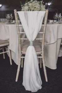 The 25+ best Wedding chair decorations ideas on Pinterest ...