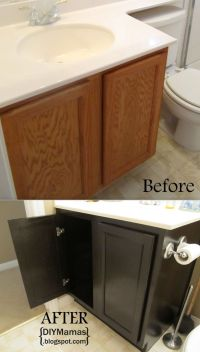 Diy Bathroom Cabinet Staining - WoodWorking Projects & Plans