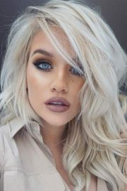 platinum blonde hair ideas