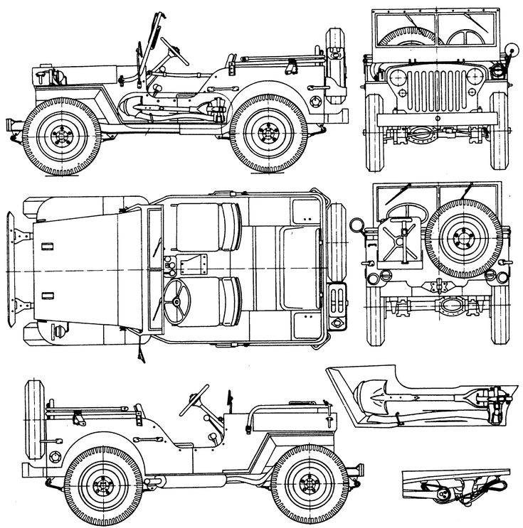 34 best images about Jeep Coloring Book on Pinterest
