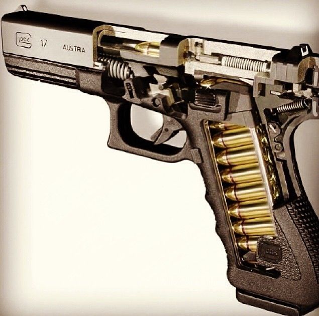 Glock 19 Diagram As Well As Glock Internal Diagram