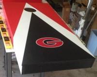 Cornhole board   cornhole paint design ideas   Pinterest ...