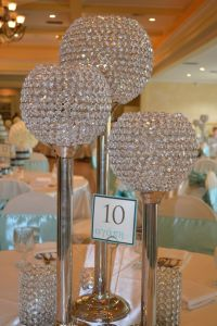 bling candle holders - centerpieces   Bling Wedding ...