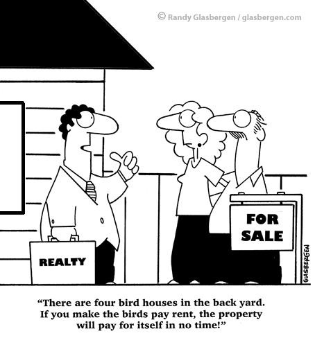 investment in rental property funny :) http://www