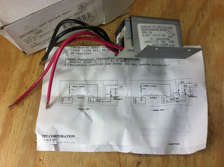 240 volt baseboard heater wiring diagram brake light toyota 4runner 25+ best ideas about thermostat on pinterest   electric heaters ...