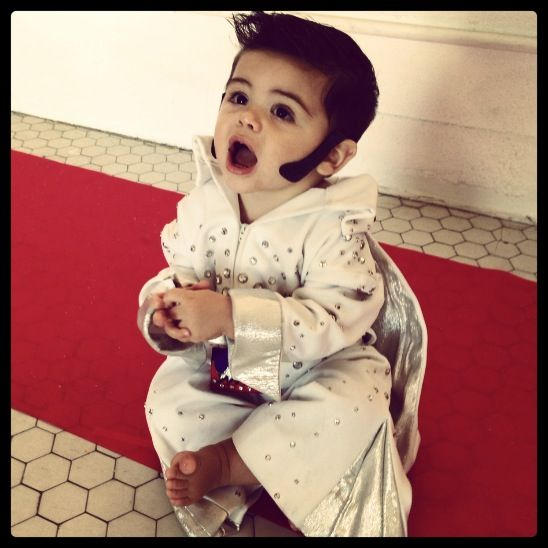 Cutest baby boy Elvis Halloween costume My Boy