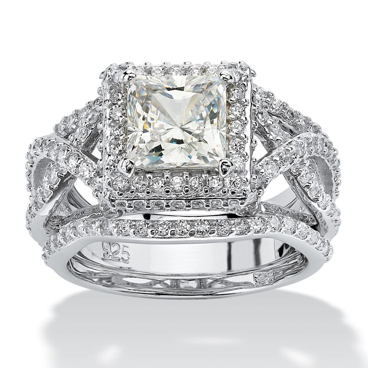 25 Best Ideas About Princess Cut Halo On Pinterest