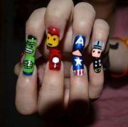 avengers nails tomboy