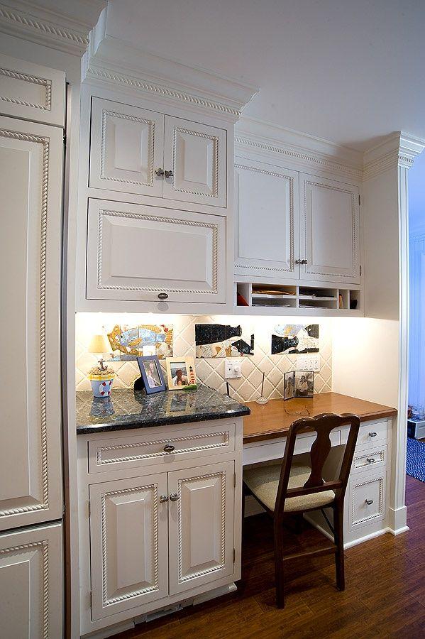 25 best ideas about Kitchen desk areas on Pinterest  Kitchen office spaces Kitchen office